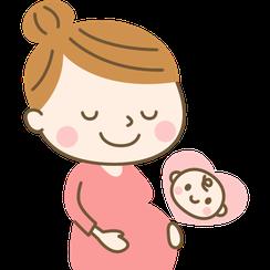 妊婦のイメージイラスト