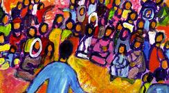Berna, Evangile et peinture