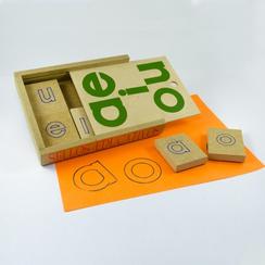 sellos educativos abecedario