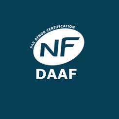 certification NF DAAF