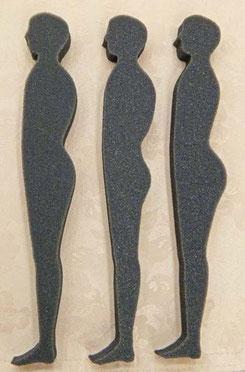 首の頚椎カーブと姿勢 / オーダーメイド枕のスリープキューブ和多屋