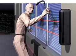 barriere laser