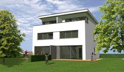 Doppelhaus Viualisierungen