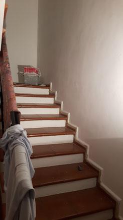 Ein neuer Anstrich fürs Trepppenhaus