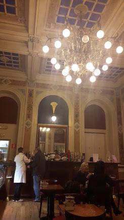 Das Café im Grand Hotel