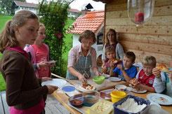 Ferienprogramm Pizza & Brot