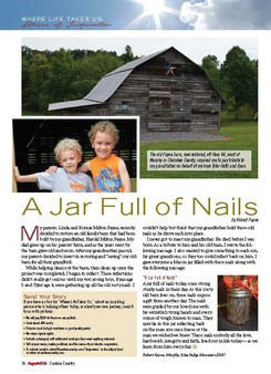 Payne Meadows Restored Barn Article