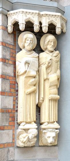 Les évangélistes: Matthieu et Marc