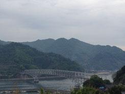 豊浜大橋(トラス橋という構造です)
