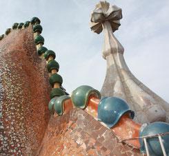 дом Бальо, крыша, Casa Batllo