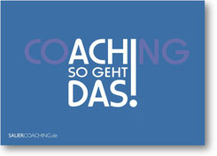"Postkarte ""CoACHing"""
