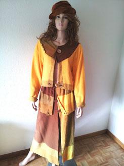 Kleid 2Tlg,Gr.M/L, Fr.30.-, Hut Fr.4.-