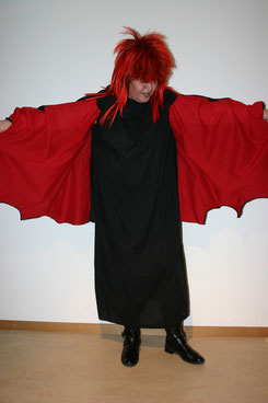 Kleid mit Fledermausärmel, Fr.28.-