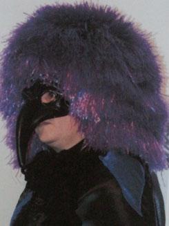 Vogelmaske Rabe, Fr.4.-