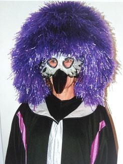 Nur Maske und Perücke,Fr.13.-