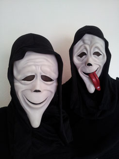SCREAM Masken, je Fr.9.-