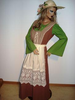 Tracht/ oder Mittelalterkleid,3Tlg.,(auch helle Bluse erhältlich) Gr.M/L, Fr.37.-