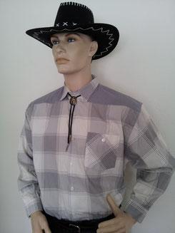 Cowboyhemd Gr.XL,Fr.12.-,Hut Fr.7.-