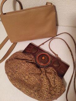 kl.Tasche Fr.3.-, Tasche mit Verzierung Fr.5.-