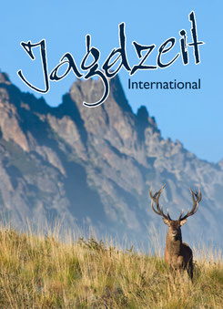 Jagdzeit International 2, Cover Argentinischer Rothirsch