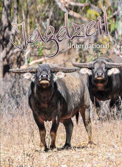 Jagdzeit International 25, Cover Wasserbüffel, Outback Australien, Northern Territory