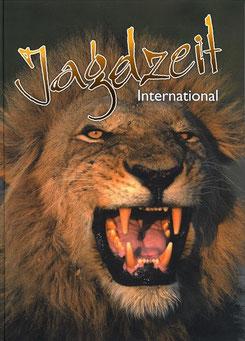 Jagdzeit International 16, Cover = Löwe mit starker Mähne