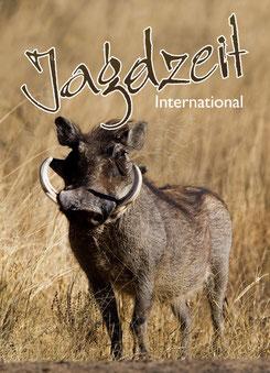 Jagdzeit International Bd. 4, Cover Warzenschwein, Warzenkeiler