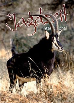 Jagdzeit International 5, Cover Sable Antilope