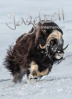 Jagdzeit International 23, Cover Moschusochse