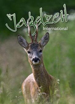Jagdzeit International 10, Cover = Rehbock