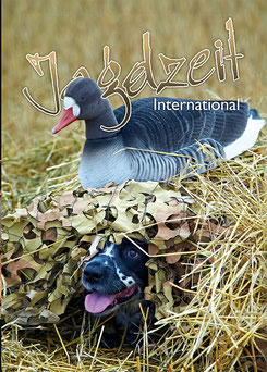 Jagdzeit International 17, Cover = LockvogelGänsejagd