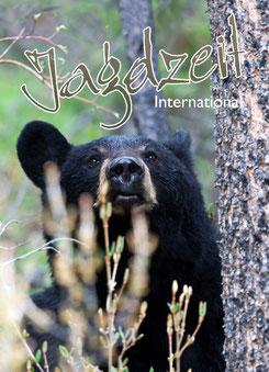 Jagdzeit International 6, Cover Kanadischer Schwarzbär