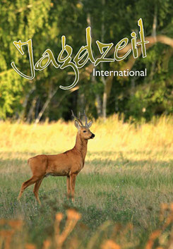 Jagdzeit International 15, Cover= Sibirischer Rehbock