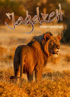 Jagdzeit International 24, Cover Löwe, männlich