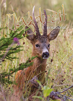 Jagdzeit International 20, Cover = Rehbock