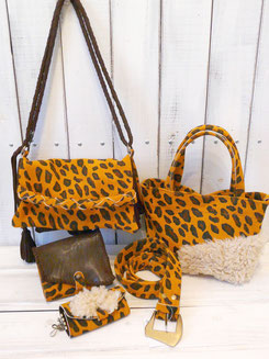 SUEDE LEOPARD
