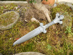 Cerámica, celta, castrexo, puñal. Monte Santa Trega, A Guarda, Pontevedra, Galicia