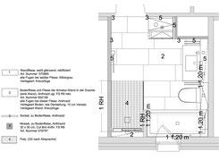 Detailplanung Fliesenleger