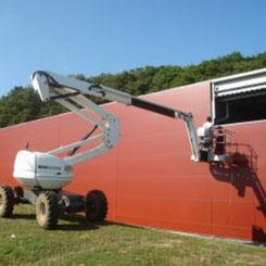 panneaux sandwich pour isolation bâtiment metallique par ACMB Brioux 79