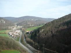 Blick auf Soyhières