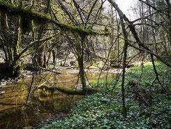 Das unberührte Tal Cras des Fonnés