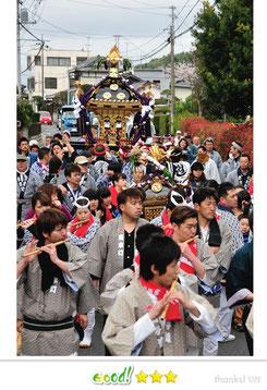 八重垣写真館さん: 葦萱神社祭礼