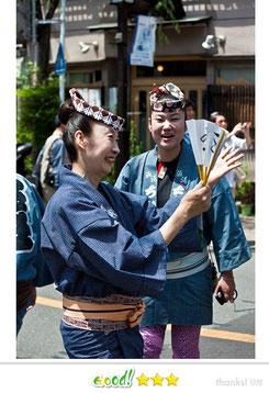 ちかさん: 三社祭