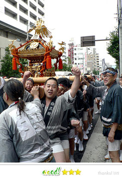 TeamLUNAさん: 富岡八幡宮例大祭