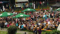 SommerNachtsFest im Kurpark Bad Berneck