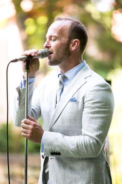 Live-Gesang bei einer Trauzeremonie 2018