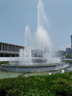 研修講師をして得たもの 平和記念公園噴水