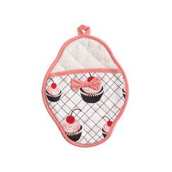 Jessie Steele Topflappen Cupcake mit Kirsche