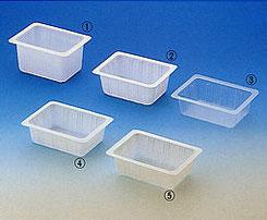 豆腐の容器は種類が多い。サンプルでよく確認を。