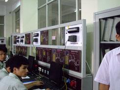 ベトナム国職業訓練センターPLC訓練